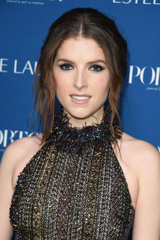 ANNA KENDRICK at Porter