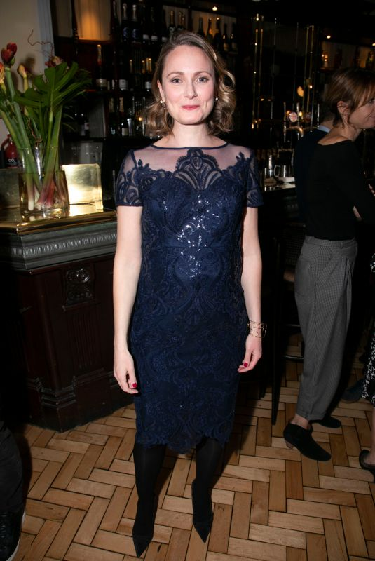 ANNA MADELEY at The Height of the Storm Press Night Party in London 10/09/2018