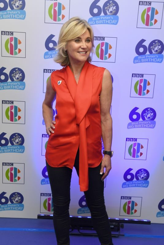 ANTHEA TURNER at Blue Peter's Big Birthday 60 Years Celebration in London 10/16/2018