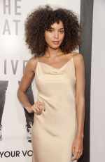 ARLISSA RUPPERT at The Hate You Give Premiere in New York 10/04/2018