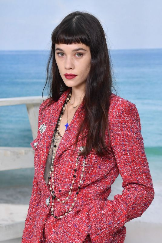 ASTRID BERGES-FRISBEY at Chanel Show at Paris Fashion Week 10/02/2018