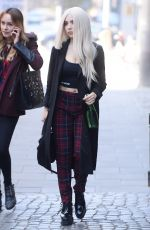 AVA MAX Leaves Good Morning TVN in Warsaw 10/18/2018