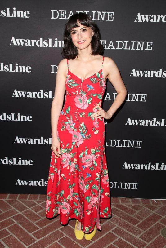 AVITAL ASH at Deadline Awards Season Kickoff Party in Los Angeles 10/01/2018