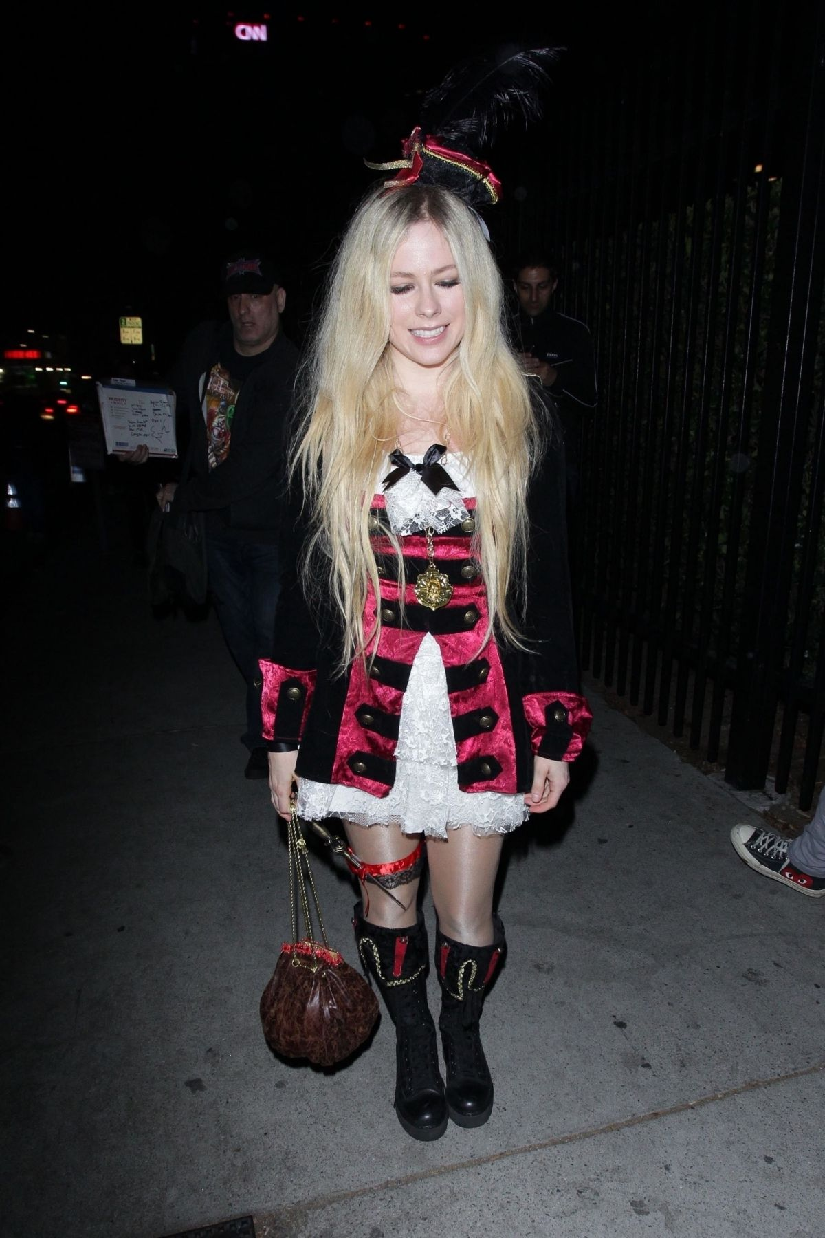 Avril Lavigne Halloween 2020 AVRIL LAVIGNE at Halloween Party in West Hollywood 10/27/2018