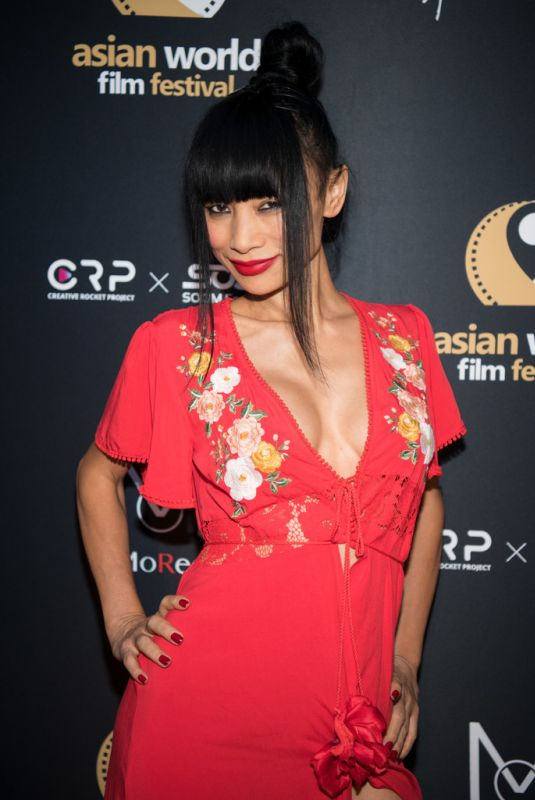 BAI LING at Love Sonia Premiere at Asian World Film Festival in Culver City 10/24/2018