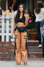BARBARA DE REGIL Out and About in Los Angeles 10/13/2018