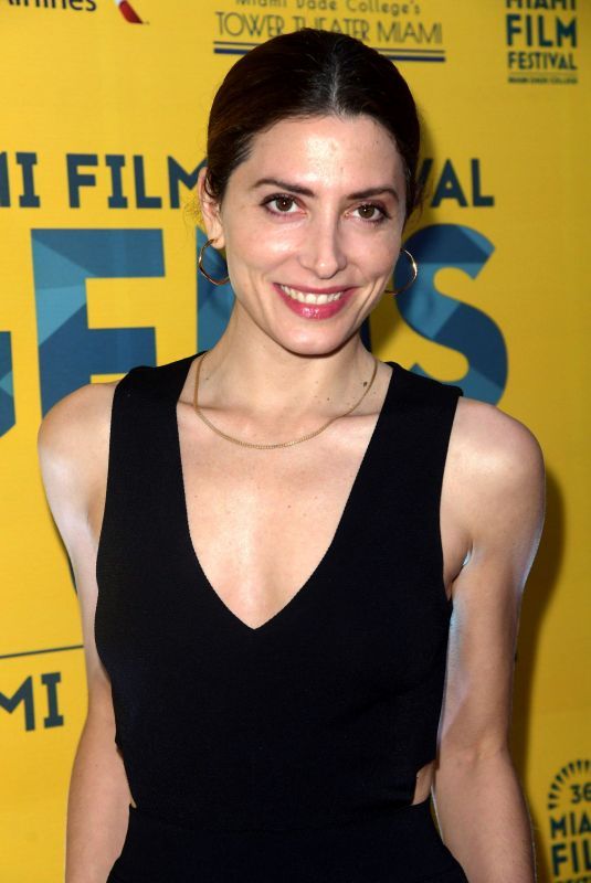 BARBARA LENNIE at Everybody Knows Premiere at Miami Film Festival 10/13/2018