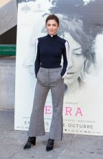 BARBARA LENNIE at Petra Photocall in Madrid 10/17/2018