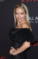 BECKI NEWTON at Tell Me A Story Premiere in New York 10/23/2018