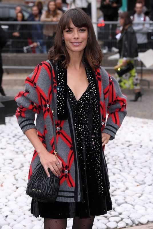 BERENICE BEJO Arrives at Miu Miu Fashion Show in Paris 10/02/2018