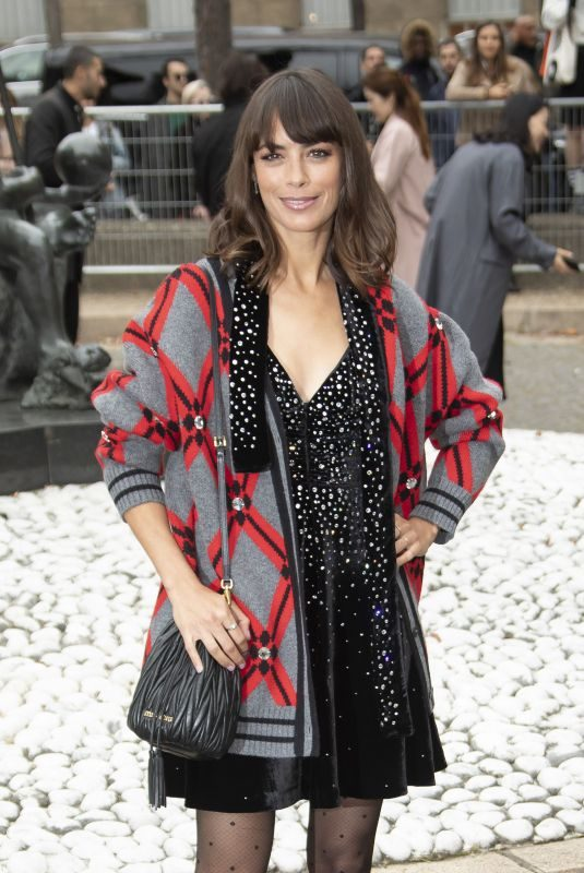 BERENICE BEJO at Miu Miu Fashion Show in Paris 10/02/2018