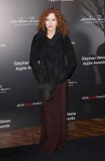 BERNADETTE PETERS at Stephan Weiss Apple Awards in New York 10/24/2018