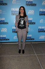 BETH DOVER at Dear Evan Hansen Opening in Los Angeles 10/20/2018