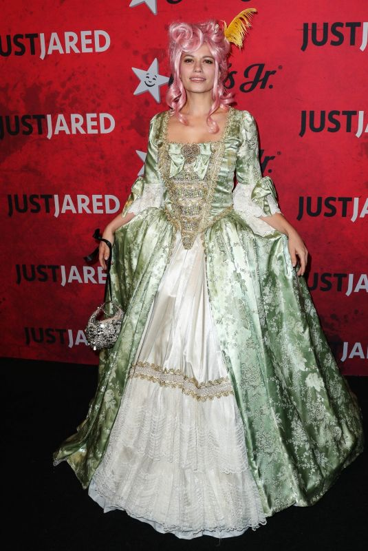BETHANY JOY LENZ at Just Jared Halloween Party in West Hollywood 10/27/2018