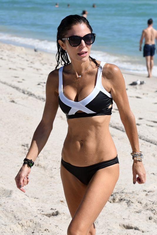 BETHENNY FRANKEL in Bikini at a Beach in Miami 10/20/2018