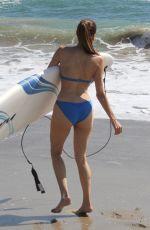 BLANCA BLANCO in Bikini at a Beach in Malibu 10/15/2018