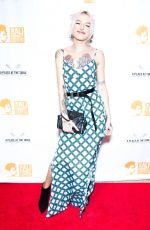 BRIA VINAITE at A Place at the Table Gala Benefit in New York 10/12/2018