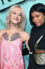 BRIA VINAITE at Tiffany & Co. Celebrates 2018 Tiffany Blue Book Collection in New York 10/09/2018