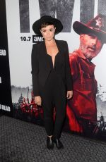 BRIANA VENSKUS at The Walking Dead Premiere Party in Los Angeles 09/27/2018