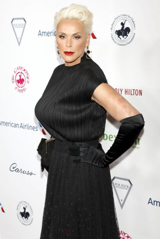 BRIGITTE NIELSEN at 2018 Carousel of Hope Ball in Los Angeles 10/06/2018