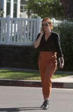 BRITTANY SNOW Out for Lunch in Los Angeles 10/24/2018
