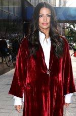 CAMILA ALVES Out in New York 10/23/2018