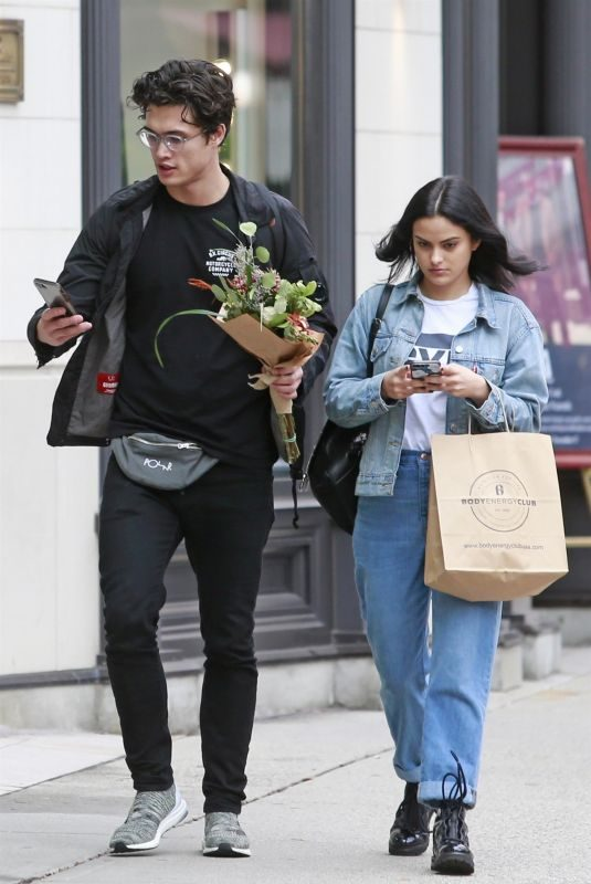 CAMILA MENDES Out Shopping in Vancouver 10/26/2018