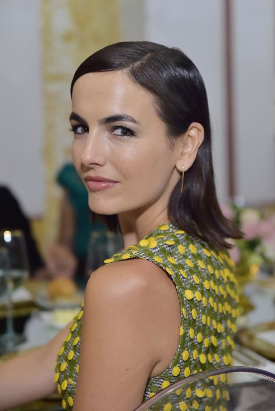 CAMILLA BELLE at Getty + C Magazine Dinner in Pacific Palisades 10/11/2018