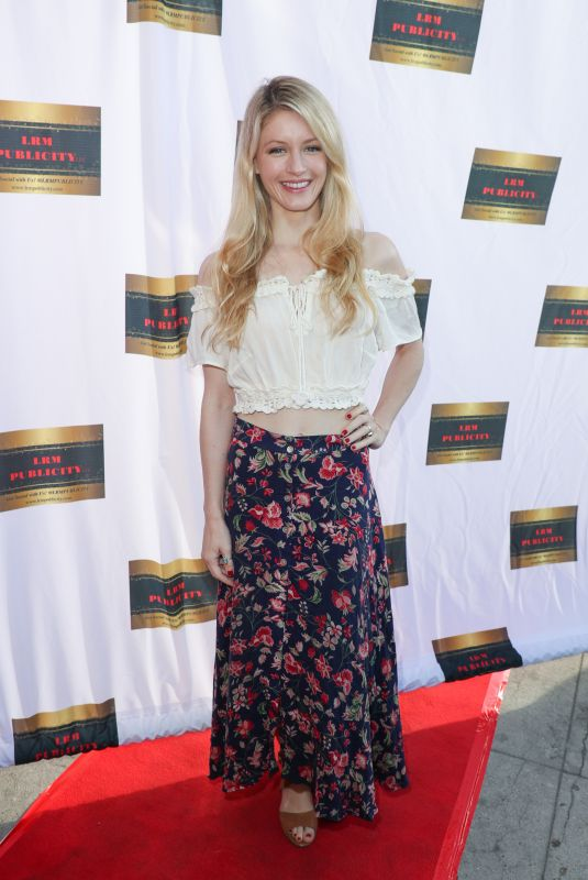 CAMILLE MONTGOMERY at #actionjax Movie Morning Fundraiser in Los Angeles 10/07/2018
