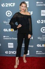 CAMMIE SCOTT at Glsen Respect Awards 2018 in Beverly Hills 01/19/2018
