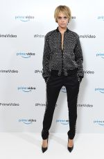 CARA DELEVINGNE at Carnival Row for Prime Video Presents in London 10/02/2018