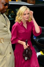 CAREY MULLIGAN Out and About in New York 10/15/2018