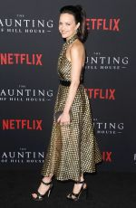 CARLA GUGINO at The Haunting of Hill House Premiere in Los Angeles 10/08/2018