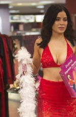 CARLA HOWE Out Shopping in West Hollywood 09/30/2018