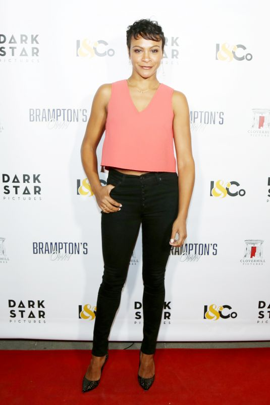 CARLY HUGHES at Brampton's Own Premiere in Los Angeles 10/17/2018