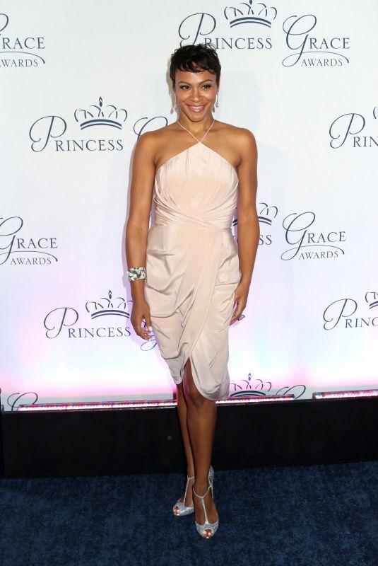 CARLY HUGHES at Princess Grace Awards Gala in New York 10/16/2018