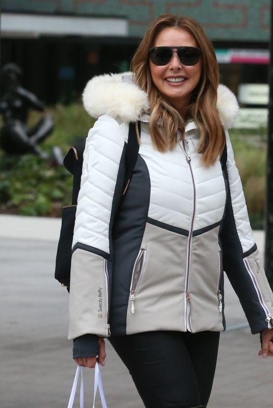 CAROL VONDERMAN Arrives at ITV Studios in London 10/24/2018