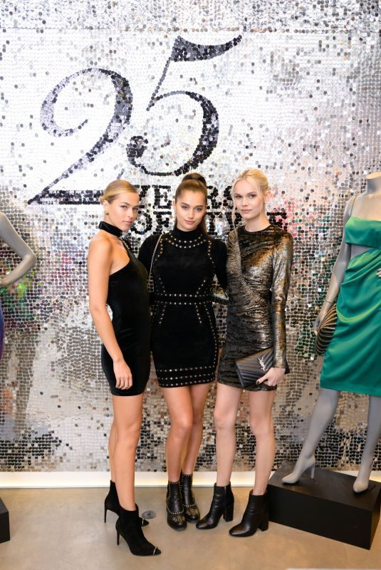 CAROLINE KELLY and KENDALL VISSER at Intermix 25th Anniversary Party in New York 10/18/2018