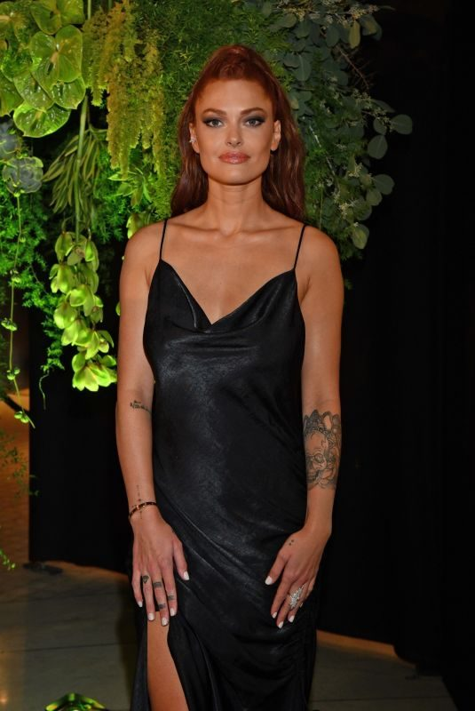 CAROLINE RECEVEUR at Influencer Award Monaco Gala Dinner in Monaco 10/07/2018