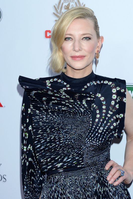 CATE BLANCHETT at Britannia Awards 2018 in Beverly HIlls 10/26/2018