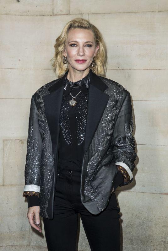CATE BLANCHETT at Louis Vuitton Fashion Show in Paris 10/02/2018