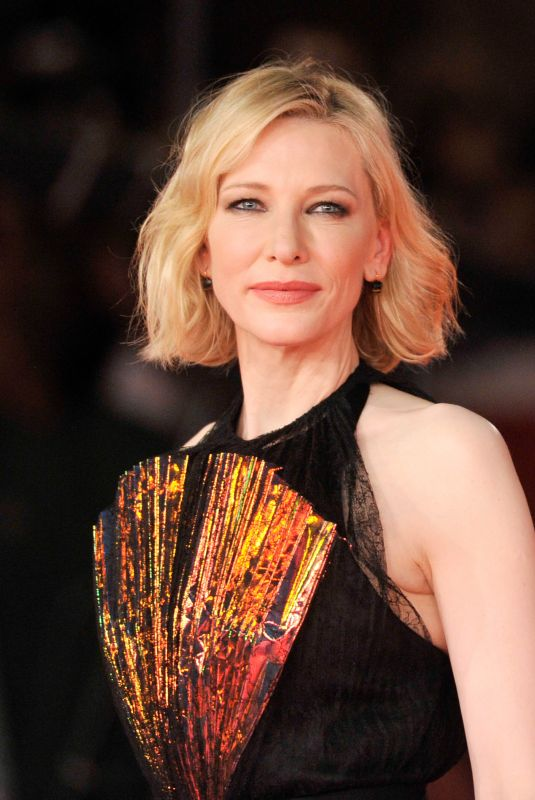 CATE BLANCHETT at The House with a Clock in its Walls Premiere at Rome Film Festival 10/19/2018