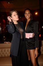 CATHERINE MCNEIL at Cindy Bruna's 24th Birthday Party in Paris 09/29/2018