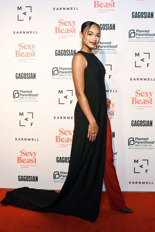 CHANDLER KINNEY at Sexy Beast Gala: A Benefit for Planned Parenthood LA in Los Angeles 10/20/2018