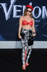 CHANEL WEST COAST at Venom Premiere in Los Angeles 10/01/2018