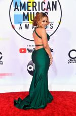 CHARISSE MILLS at American Music Awards in Los Angeles 10/09/2018