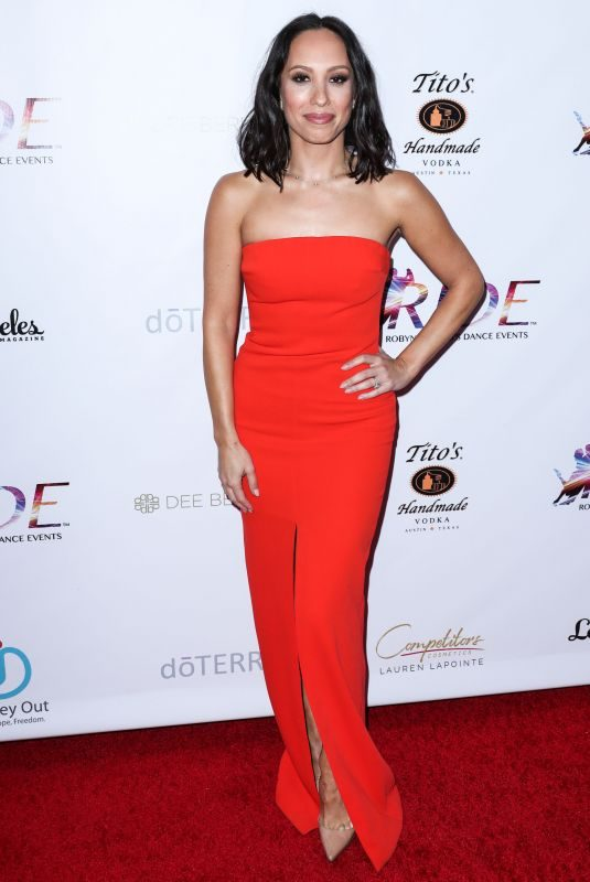 CHERYL BURKE at 2nd Annual Dance for Freedom in Santa Monica 09/29/2018