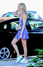CHIARA FERRAGNI Out for Lunch at Cafe Zinque in Los Angeles 10/04/2018