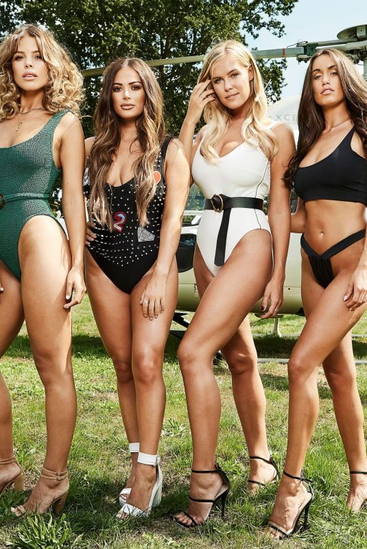 CHLOE MEADOWS, CHLOE LEWIS, COURTNEY GREEN and CLEILIA THEODOROU at Pool Party in Essex 08/21/2018