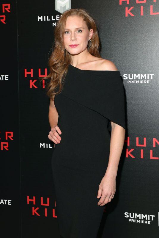 CHRISTIANE SEIDEL at Hunter Killer Premiere in New York 10/22/2018